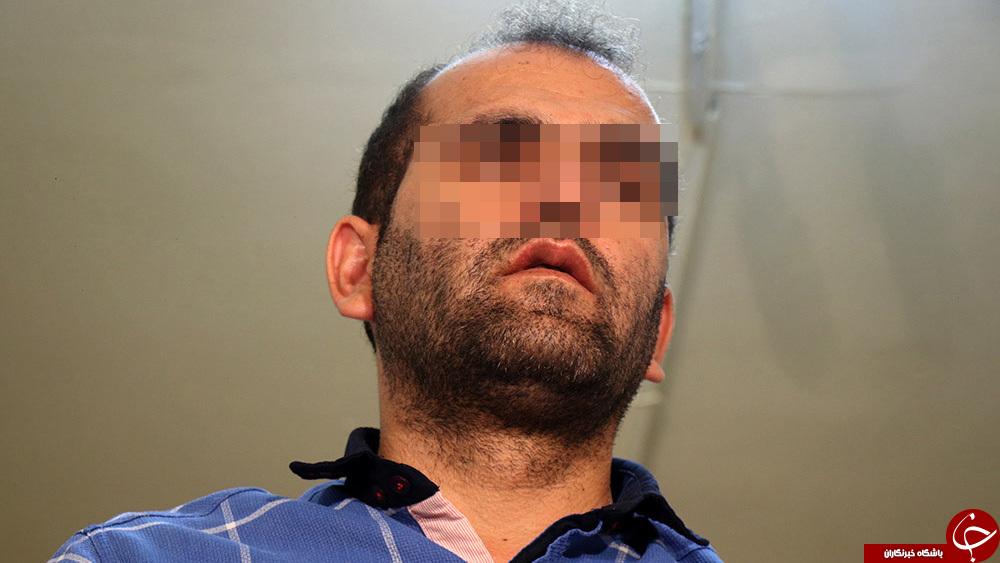 شیطان پارس آباد قبل از انتقال به دادگاه برای محاکمه +تصاویر