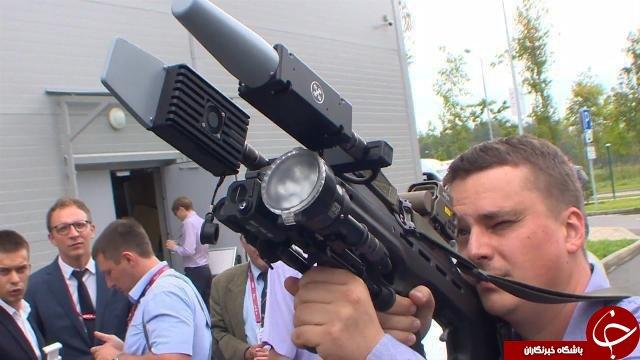 سلاح جدید کلاشینکف برای نابودی پهپادها +عکس