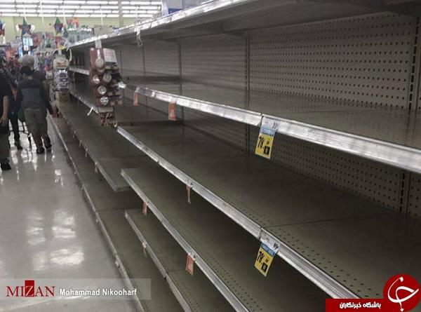 هجوم مردم تگزاس به فروشگاه ها