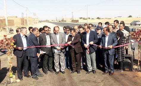 افتتاح و کلنگ زني پنج پروژه با 7 ميليارد و 250 ميليون تومان اعتبار