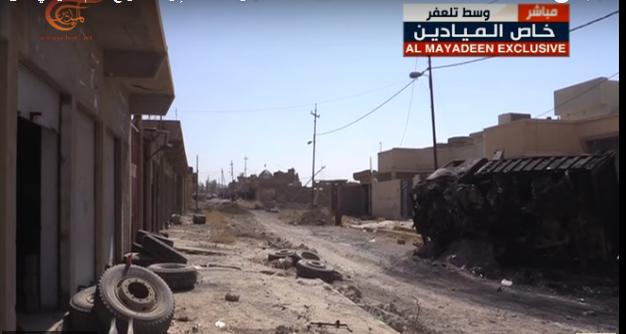 آزادسازی 90 درصدی تلعفر از شر داعش/ استحکامات دفاعی تکفیریها درهم شکست