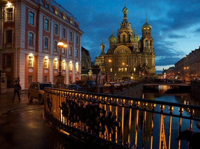 سن پطرزبورگ شهر مورد علاقه لنین