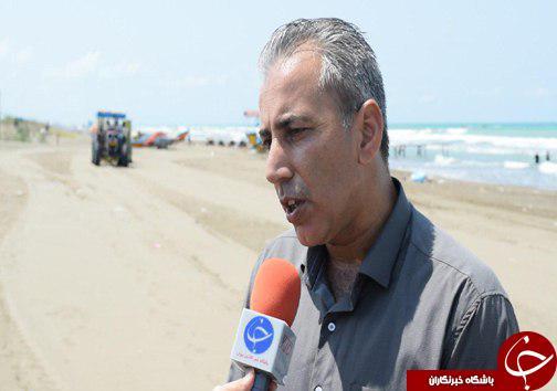 مرهمی برای بحران زباله در ساحل خزر/ نجات ساحل خزر با جاروی ساحلی