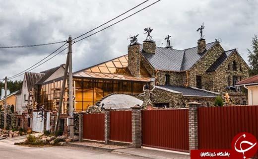 ترسناکترین خانه دنیا را ببینید! +تصاویر