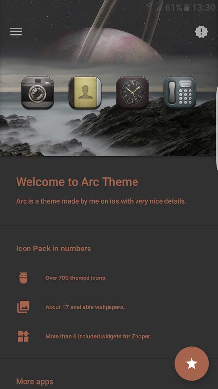 دانلود Arc v4.3 - تم آی او اس برای اندروید