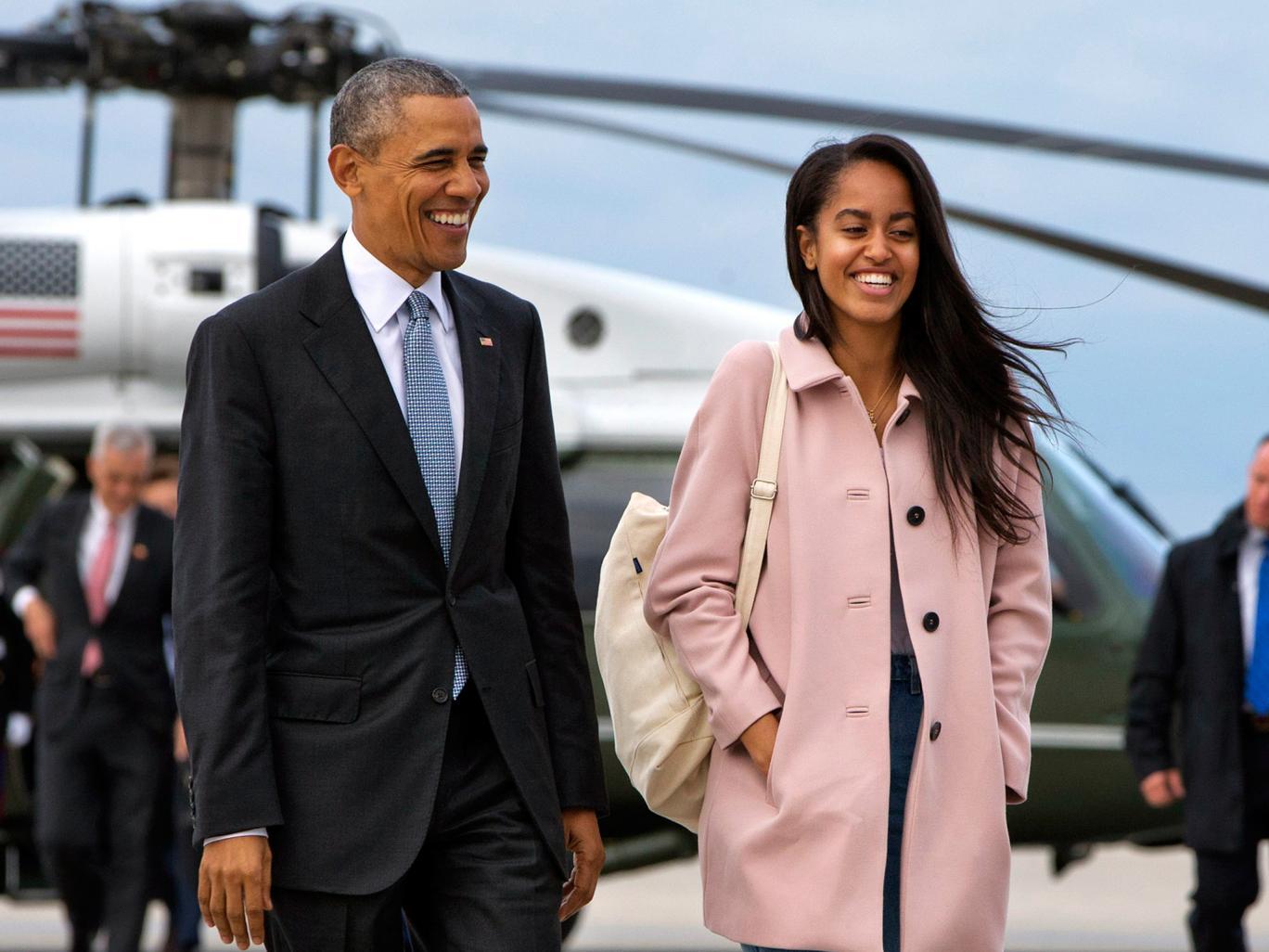 چالش دختر بزرگ اوباما پس از ورود به دانشگاه هاروارد
