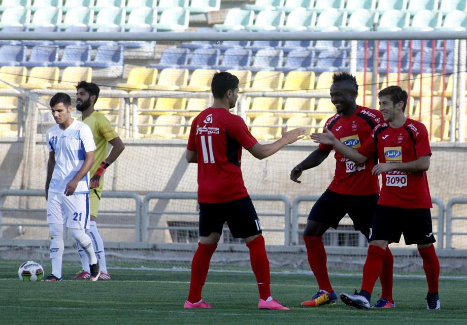 پرسپولیس 6 - خوشه طلایی 0 / برتری پر گل سرخپوشان مقابل تیم دسته دومی