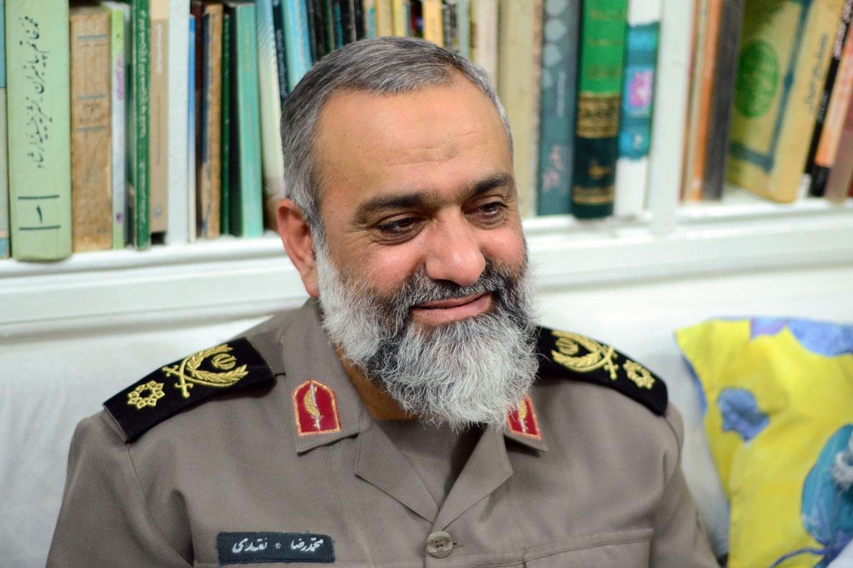 سردار نقدی در اردوهای جهادی + عکس