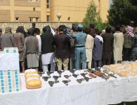 بازداشت ۴۰۰ مجرم در کابل در یک ماه گذشته