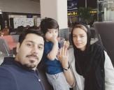 باشگاه خبرنگاران -زندگینامه احسان خواجه امیری و همسرش لیلا ربانی + تصاویر