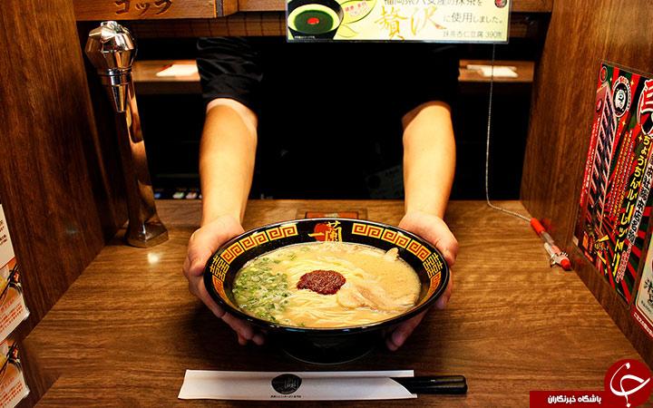 رستورانی عجیب برای درون گراها+تصاویر
