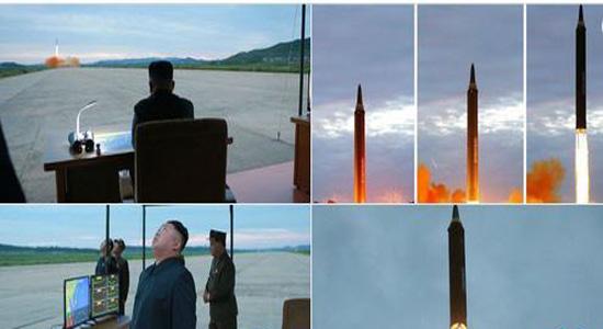 امکان وقوع جنگ هسته ای آمریکا و کره شمالی؟/موشک
