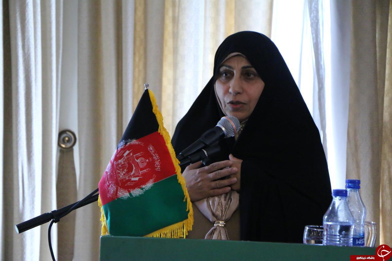 فاطمی: امنیت  و آرامی افغانستان در گرو آگاهی زنان این کشور از حقوق اجتماعی خود است