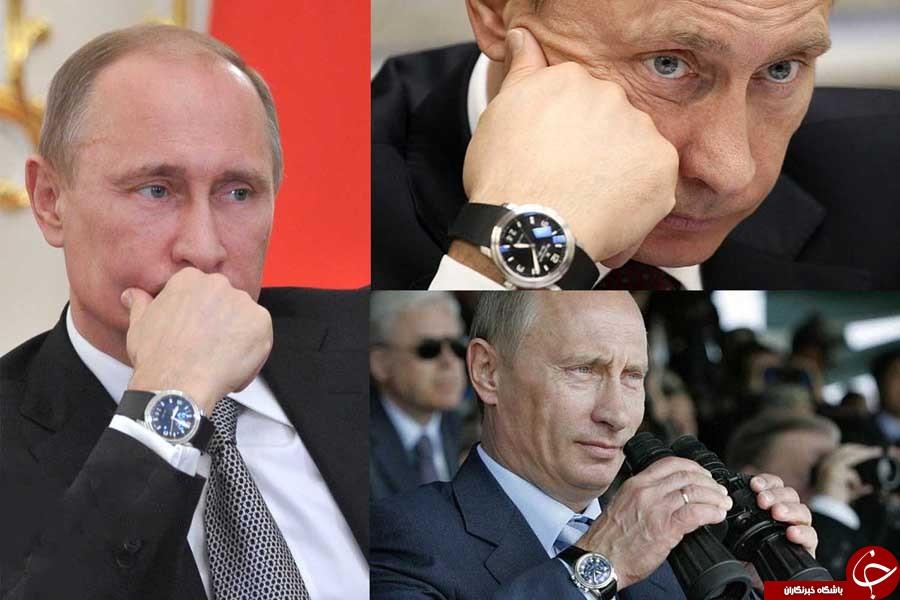 تیپ ولادیمیر پوتین مورد توجه بی بی سی قرار گرفت