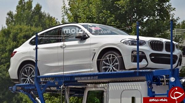 اتوموبیل مخفیانه BMW شکار دوربین عکاسان شد + تصاویر