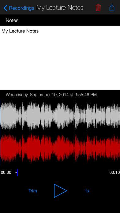 voice recorder premium – dictaphone 2.5 برنامه ضبط صدای اتوماتیک