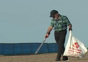 باشگاه خبرنگاران -پاکسازی سواحل زیبای مازندران از زباله + فیلم