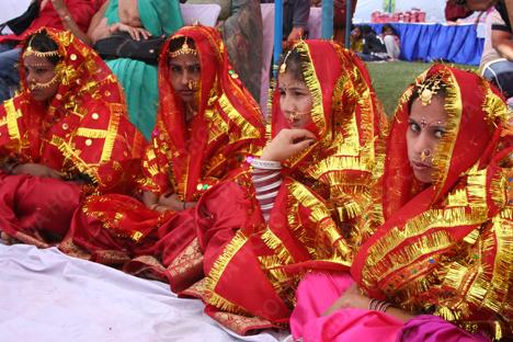 ازدواج پسر کویتی و دختر هندی با مهریه جنجالی+فیلم