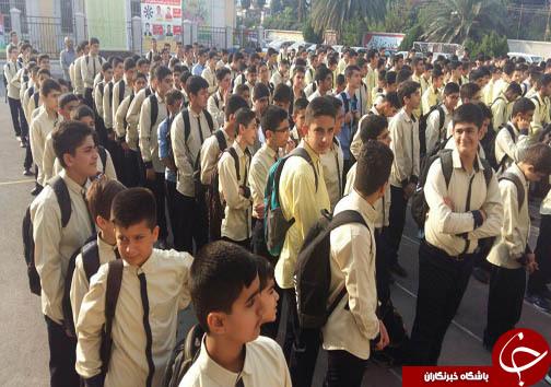 آغاز سال تحصیلی ۹۷-۹۶ در مازندران + تصاویر
