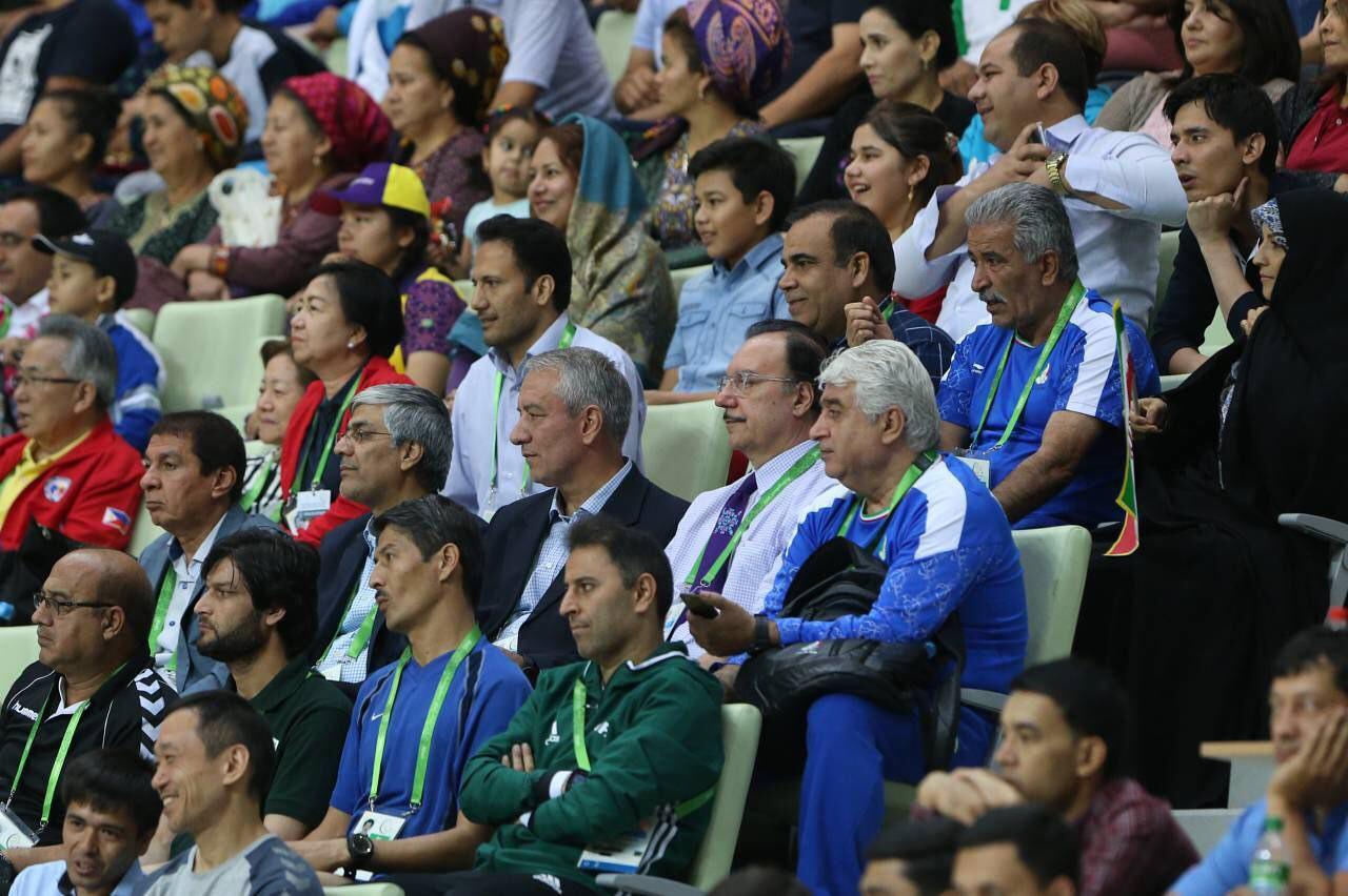 نتایج و حواشی بازیهای داخل سالن و هنرهای رزمی آسیا