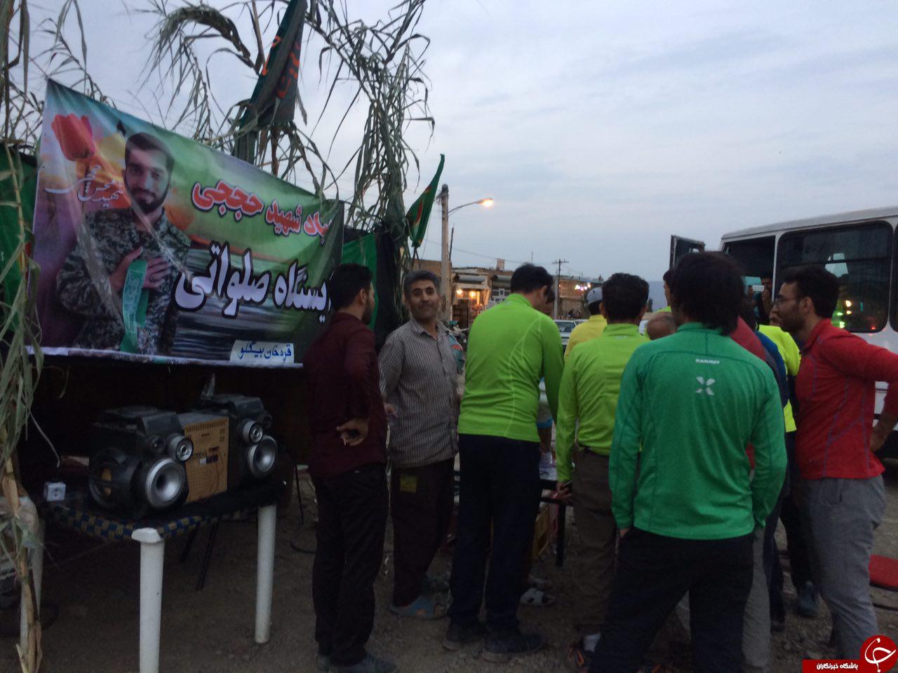 حال و هوای  عزاداری سالار شهیدان در قرخانبیگلو + تصاویر