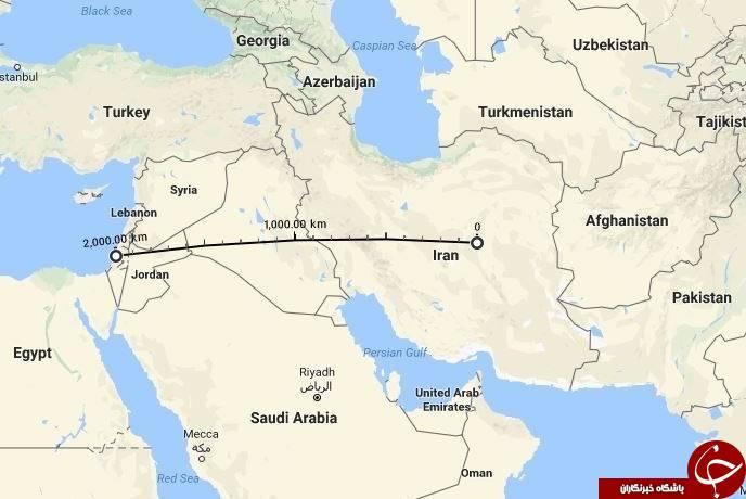 سپاه از کجا میتواند تلآویو را هدف قرار دهد + تصاویر و نقشه