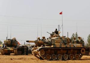 ارسال تجهیزات نظامی جدید ترکیه به مناطق مرزی با سوریه