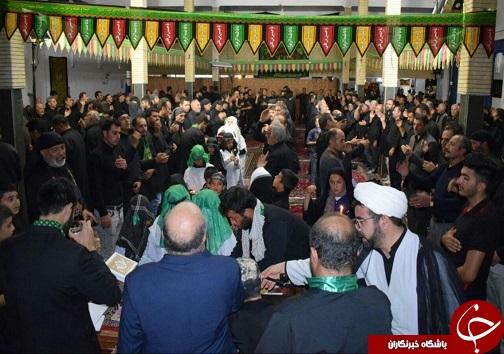 مراسم شام غریبان حسینی در آذربایجان غربی برگزار شد