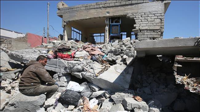 شهادت 12 غیرنظامی بر اثر حملات هوایی آمریکا در سوریه