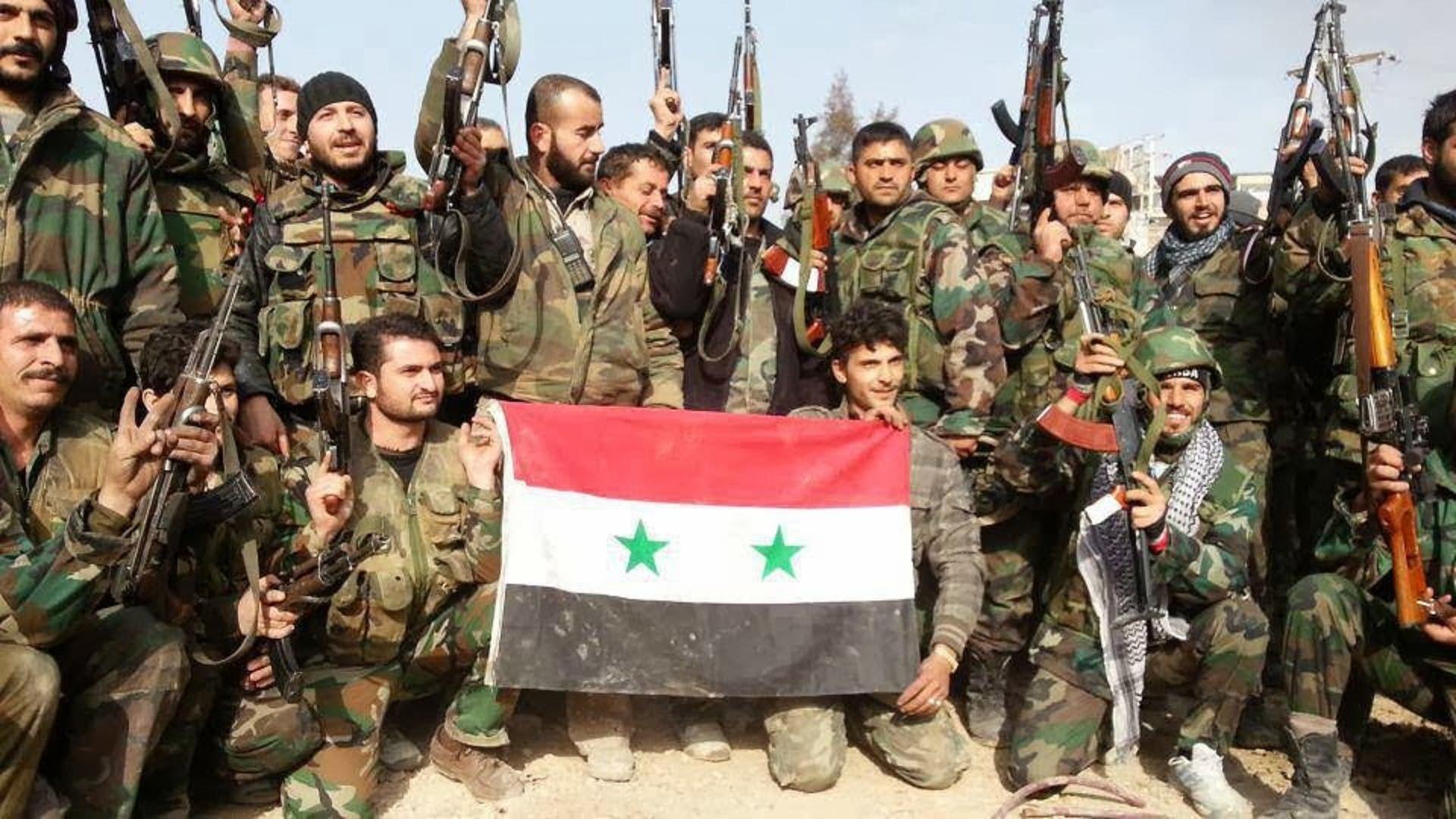 ارتش سوریه القریتین را محاصره کرد