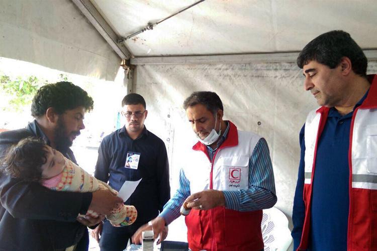 ارائه خدمات درمانی به ۱۸ هزار زائر حسینی در روز عاشورا