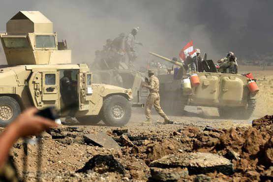نیروهای عراقی رشته کوههای