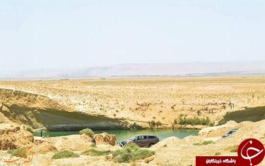 دریاچه ای اسرار آمیز که یک شبه به وجود آمد +تصاویر