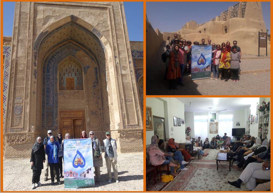 برگزاری تور خواف گردی برای گردشگران خارجی و داخلی در هفته گردشگری