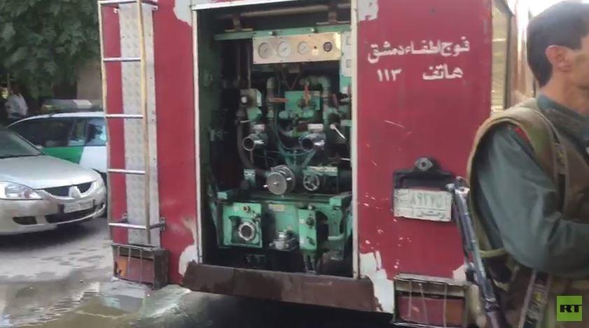 وقوع انفجار تروریستی در پایتخت سوریه