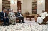 باشگاه خبرنگاران -ظریف با سلطان قابوس دیدار و گفتگو کرد