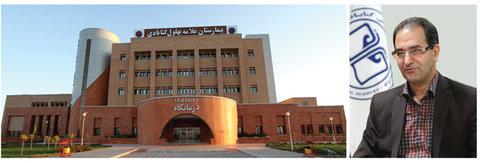درمان قطعی سکتههای حاد مغزی در بیمارستان علامه بهلول گنابادی