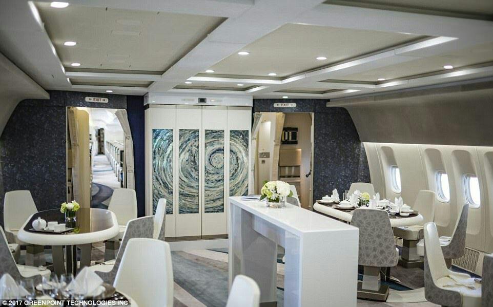 1-تصاویری از لوکسترین جت شخصی دردنیا2-هواپیمایی که شبیه به هتل ۵ ستاره است+ تصاویر3-پروازاستثنایی با هواپیمایی که شبیه به هتل پنج ستاره است+ تصاویر