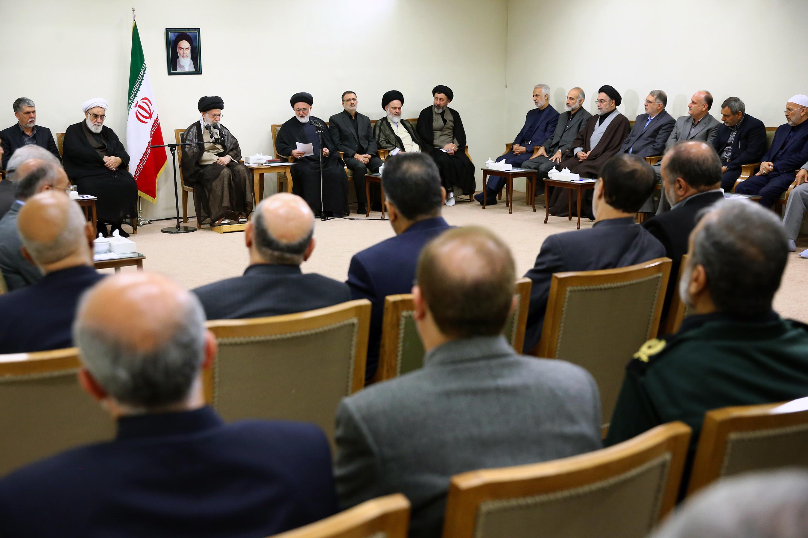 مسئولان و دستاندرکاران برگزاری حج با رهبر معظم انقلاب دیدار کردند