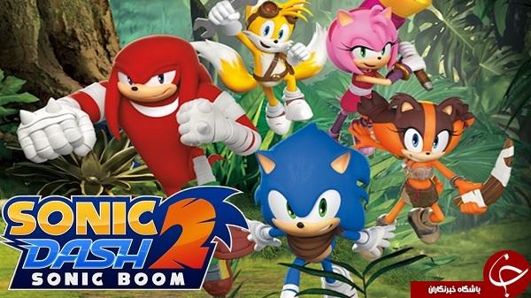 دانلود Sonic Dash 2: Sonic Boom 1.7.6 - بازی سونیک دش 2