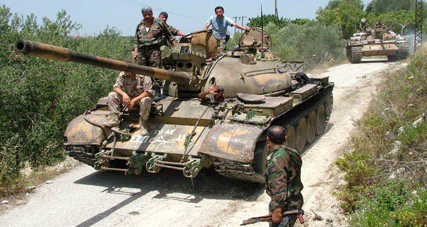 تسلط نیروهای مقاومت بر منطقه عکش
