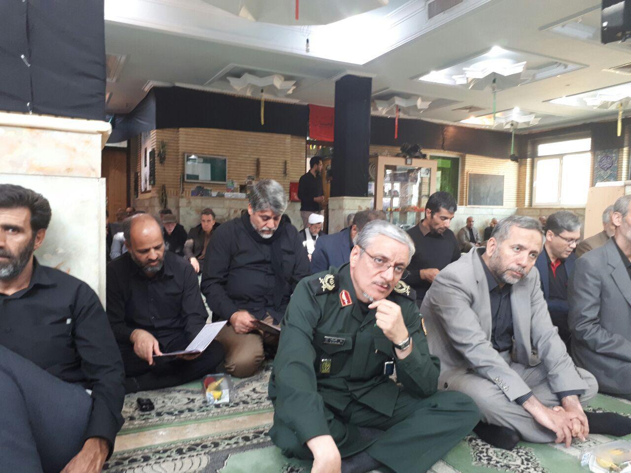 هتل ستاد 2 در مشهد مراسم ترحیم والده سردار باقرزاده برگزار شد | پایگاه اطلاع ...