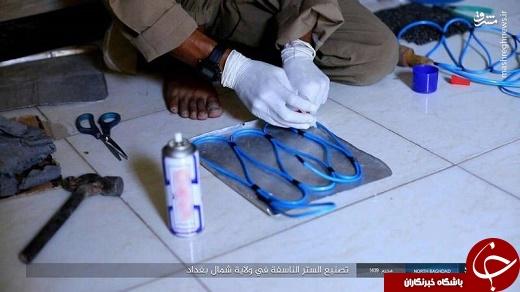 مراحل ساخت جلیقه انتحاری توسط داعش +تصاویر