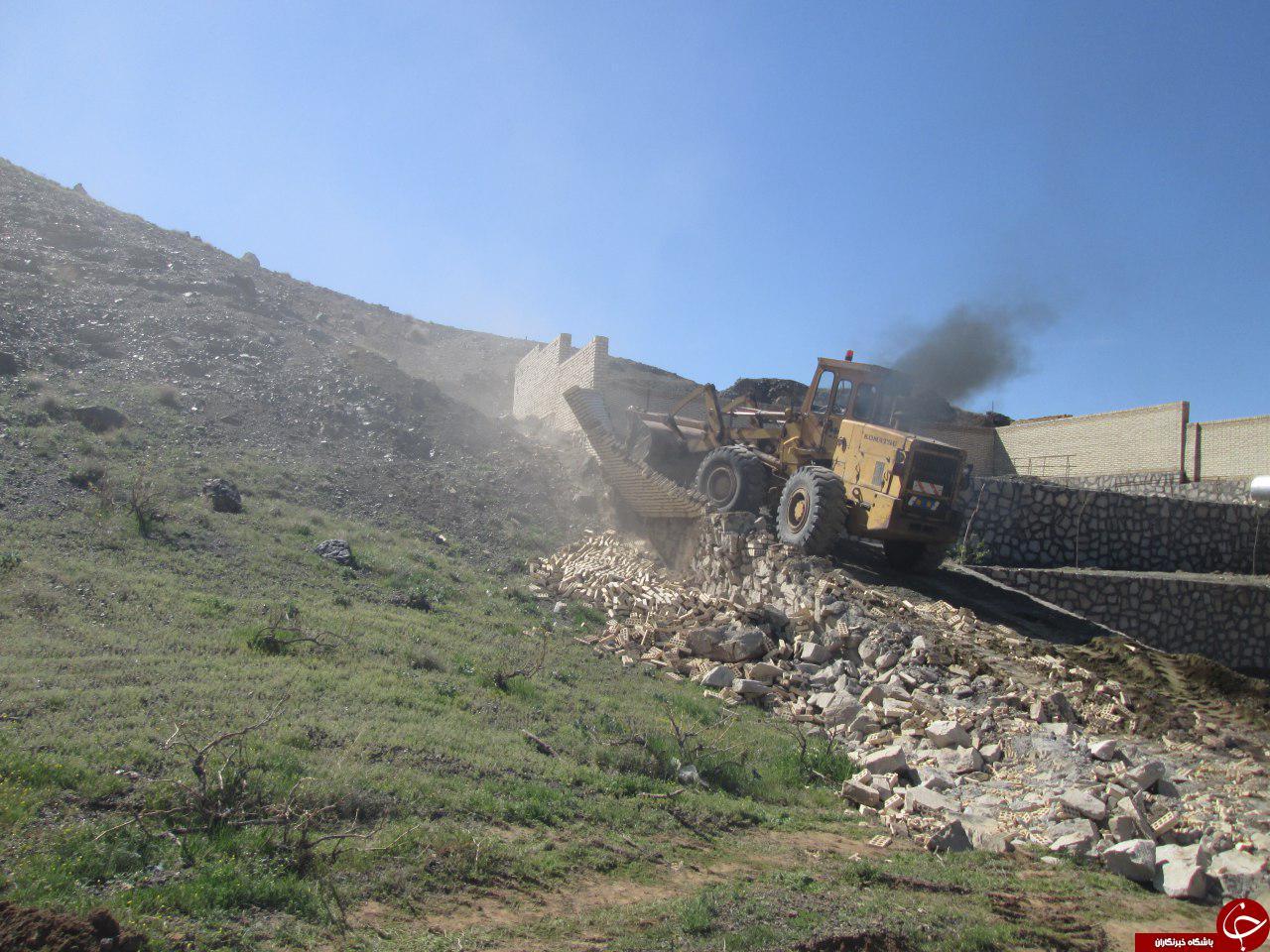 رفع تصرف ۱۸ هکتار از اراضی ملی سبزوار