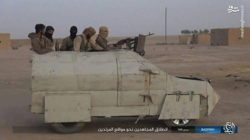 واحدهای «بزن در رو» داعش+عکس