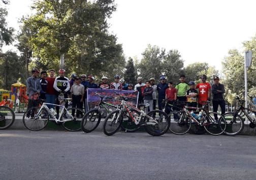 برگزاری بیست و دومین همایش دوچرخه سواری سه شنبه های بدون خودرو در خرم آباد