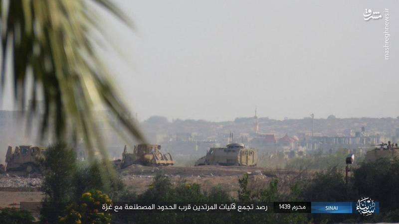 حمله داعش به ارتش مصر+تصاویر