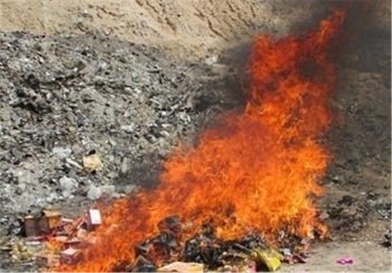 ۶۰۰ کیلوگرم مواد غذایی فاسد در بوشهر معدوم شد