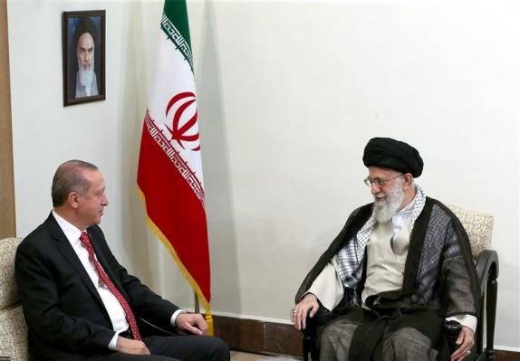 رئیس جمهوری ترکیه با رهبر انقلاب دیدار کرد