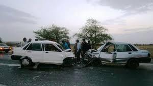 سانحه رانندگی ۲مصدوم برجای گذاشت